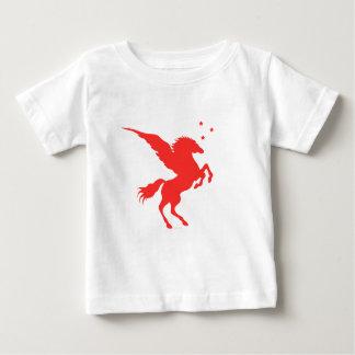 Scharlachrot Pegasus Baby T-shirt