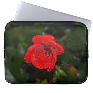 Scharlachrot Pelargonie, Laptophülse Laptopschutzhülle