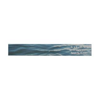 Schatten blaues Wasser-der abstrakten