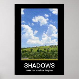 Schatten Demotivational Plakat