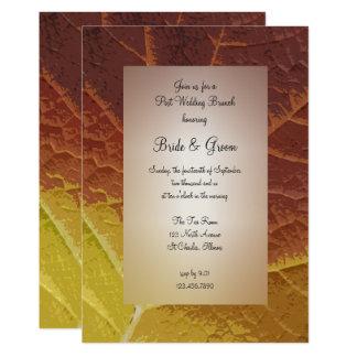 Schatten der 12,7 x 17,8 cm einladungskarte