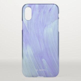 Schatten der blauen Farben-Beschaffenheit iPhone X Hülle