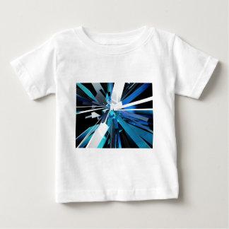 Schatten der blauen Kästen Baby T-shirt