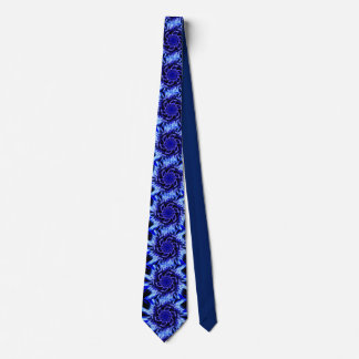 Schatten der blauen Pinwheel-Krawatte Krawatte