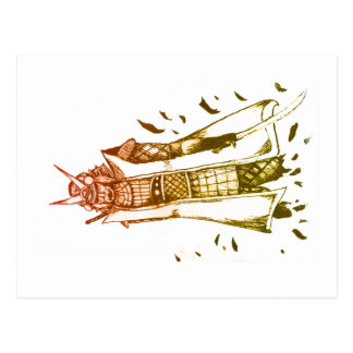 Schatten der Samurais Postkarte