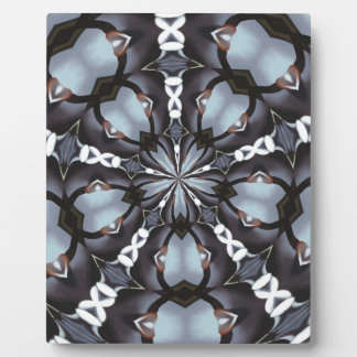 Schatten des blauen Kaleidoskops Fotoplatte