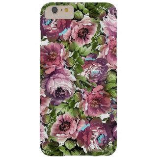 Schatten des lila Blumentelefon-Kastens Barely There iPhone 6 Plus Hülle