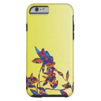 Schatten gelben hübschen Blume Iphone Kastens Tough iPhone 6 Hülle