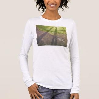 Schatten-Marionetten Langarm T-Shirt