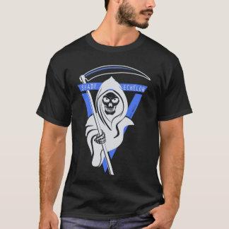 """SCHATTEN-STAFFELUNG """"Sensenmann-"""" T - Shirt"""