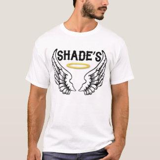 Schatten-T - Shirt im Weiß