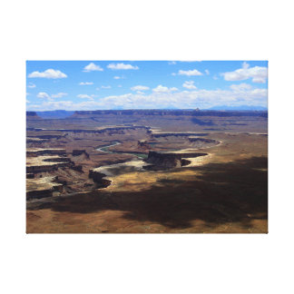 Schatten über Canyonlands Leinwanddruck