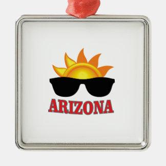 Schatten von Arizona ja Silbernes Ornament