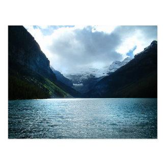 Schatten von Lake Louise Postkarte