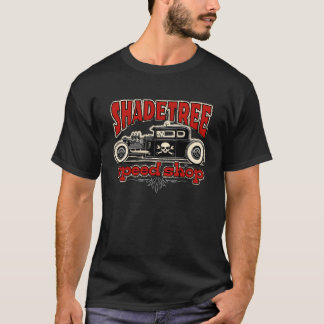 Schattenbaum-Geschwindigkeits-Geschäfts-Schuss Rod T-Shirt