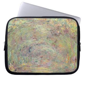 Schattierter Weg Claude Monets | Laptopschutzhülle