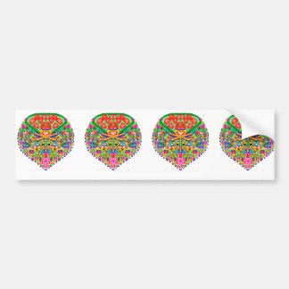 Schatz Jewels Sammlung durch Navin Autoaufkleber