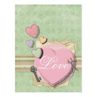 Schatz-Mädchen-Babyparty-Einladungs-Briefpapier Postkarte