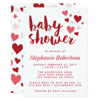 Schatz-stilvolle Babyparty-Einladung Karte