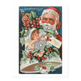 Schatz-Tage für fröhliches Weihnachten Postkarte