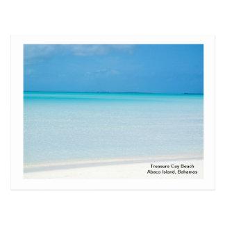 Schatzcay-Strand Postkarte