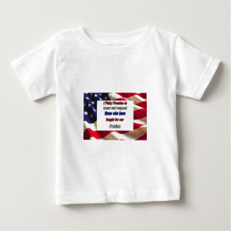 Schätzen Sie unsere Freiheit Baby T-shirt
