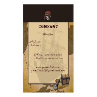 Schatzsuche - Schädel-Visitenkarte Visitenkarten