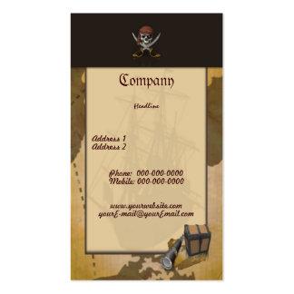 Schatzsuche-Visitenkarte Visitenkarten