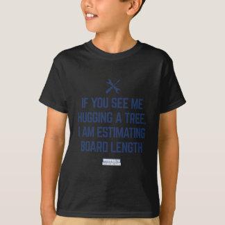 Schätzung des Brett-Längen-Shirts T-Shirt
