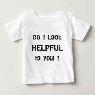 Schaue ich Sie behilflich? Baby T-shirt