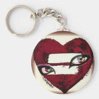 Schauen mit den Augen eines lesbischen Keychain Schlüsselanhänger