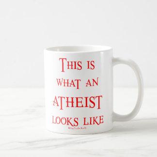 Schauen Sie! Atheist! Tee Haferl