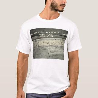 schauen Sie recht T-Shirt