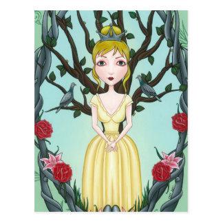 'Schauer und Beben wenig Tree Postkarte
