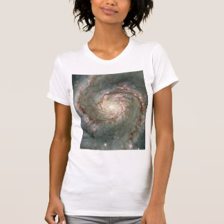 Schaufel-Astronomiegeschenk der Damen-M51 lässiges T-Shirt