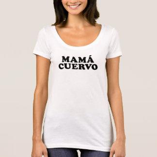 Schaufel-Hals-T - Shirt Mutter Cuervo
