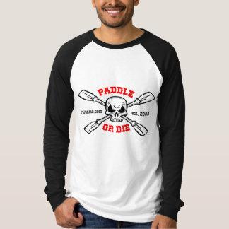 Schaufeln Sie oder die Yakinmo.comraglan-Shirt T-Shirt