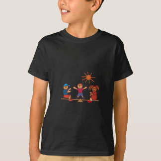 Schaukel-Totter-Kinder T-Shirt