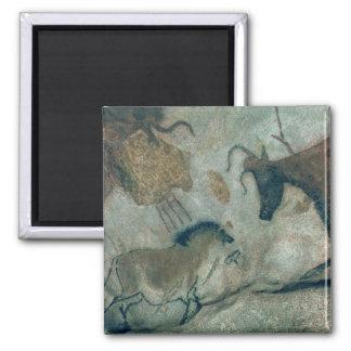 Schaukeln Sie die Malerei, die ein Pferd und eine  Quadratischer Magnet