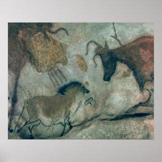 Schaukeln Sie die Malerei, die ein Pferd und eine  Poster