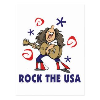 Schaukeln Sie die USA Postkarte
