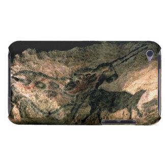 Schaukeln Sie Malerei eines gehörnten Tieres, c.17 iPod Touch Etuis