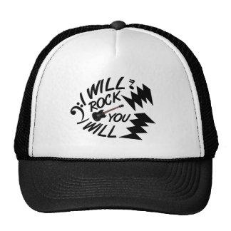 Schaukeln Sie Sie Hut Baseballmütze