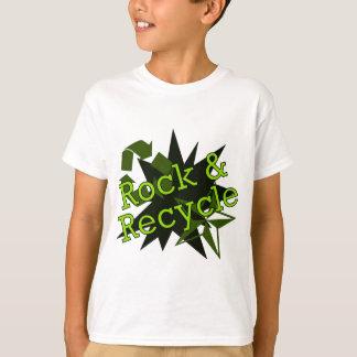 Schaukeln Sie und recyceln Sie T-Shirt