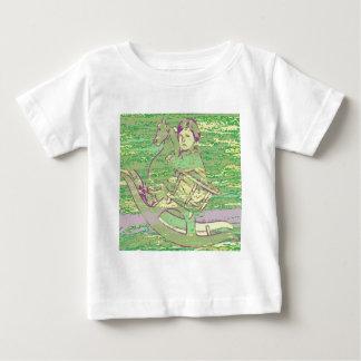 Schaukelpferd Baby T-shirt