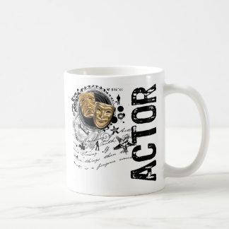 Schauspieler-Alchimie des Schauspiels Kaffeetasse
