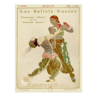 Schéhérazade, Léon Bakst u. die Balletts Russes Postkarte