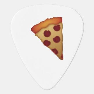 Scheibe der Pizza - Emoji Plektron