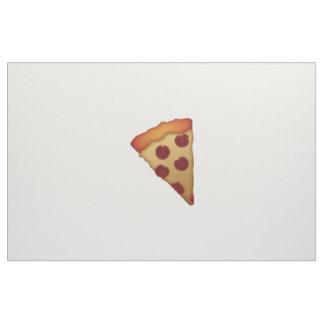 Scheibe der Pizza - Emoji Stoff