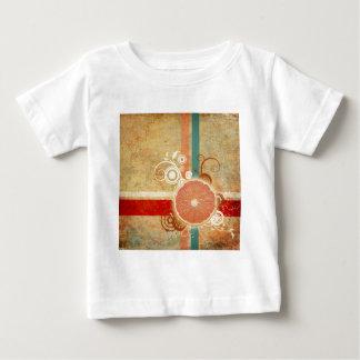 Scheibe der Zitrusfrucht abstrakt Baby T-shirt